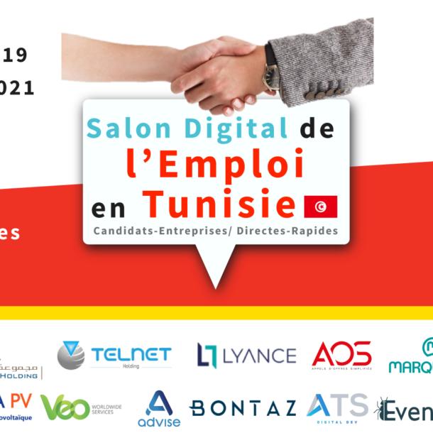 Le Salon digital de l'emploi : Rencontre pour l'emploi en Tunisie